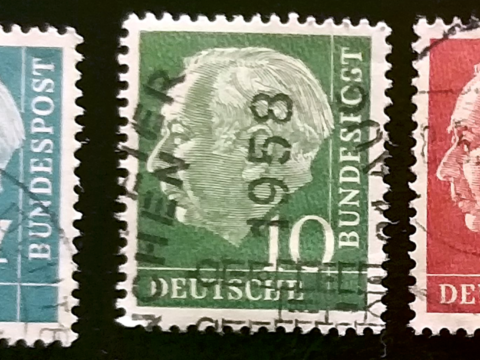 Stamps Theodor Heuss
