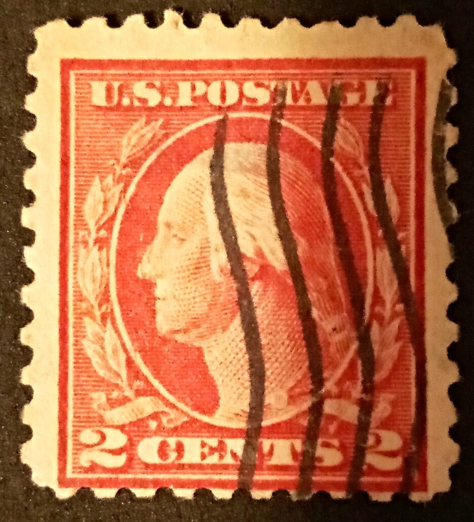 Rare – US George Washington 2c