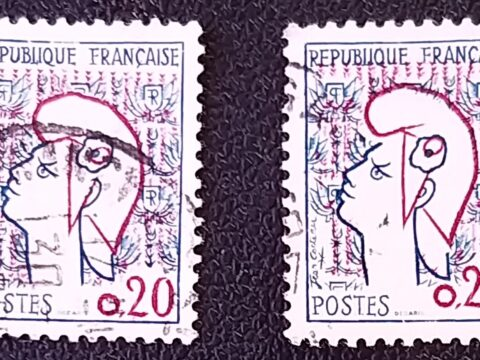 post stamps francaise